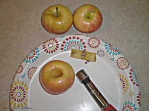 How to core an apple