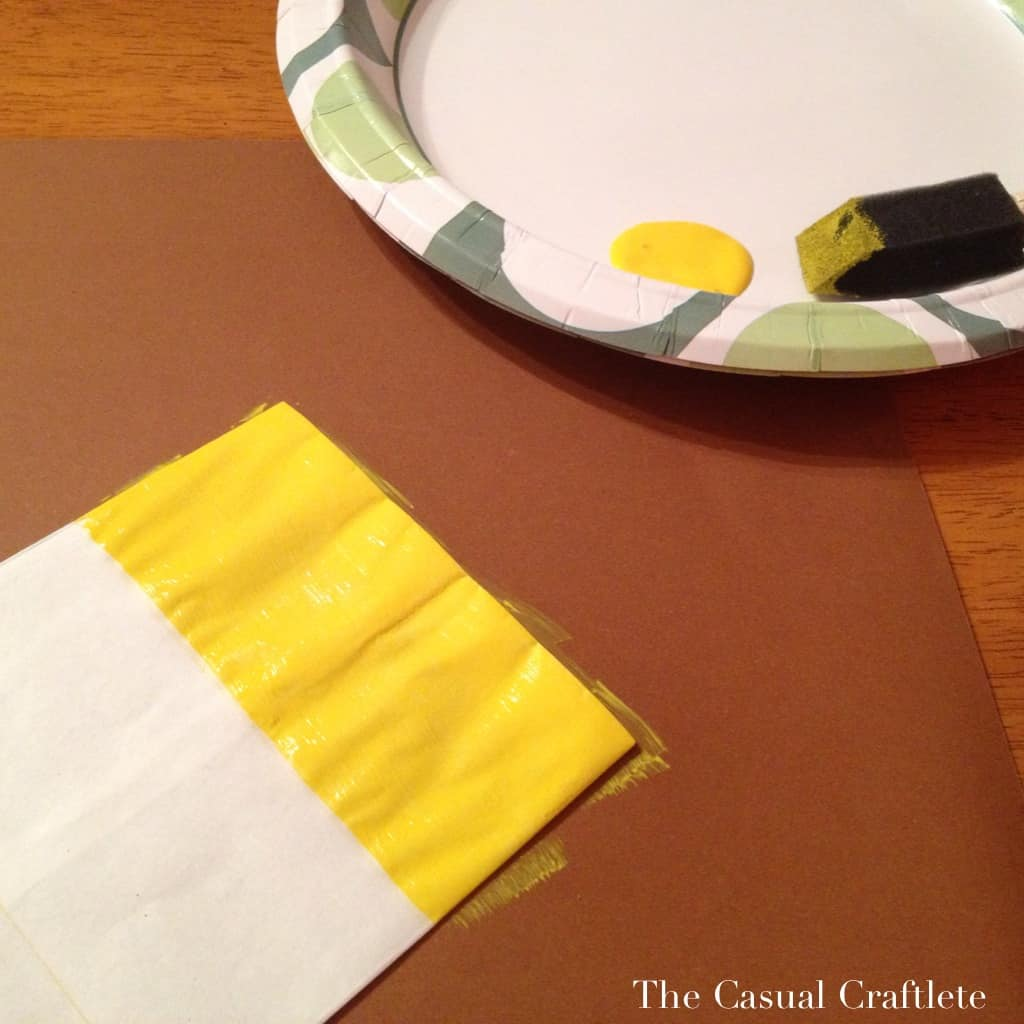 Using American Acrylic Paint for treat bags