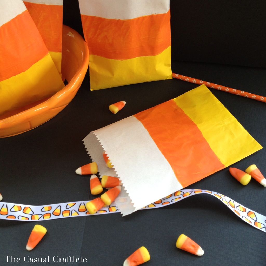 Candy Corn Treat Bags