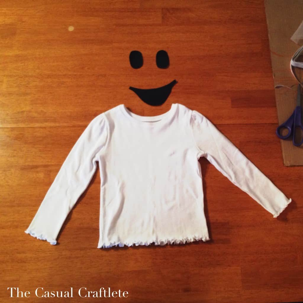 How to make a ghost shirt using an iron on