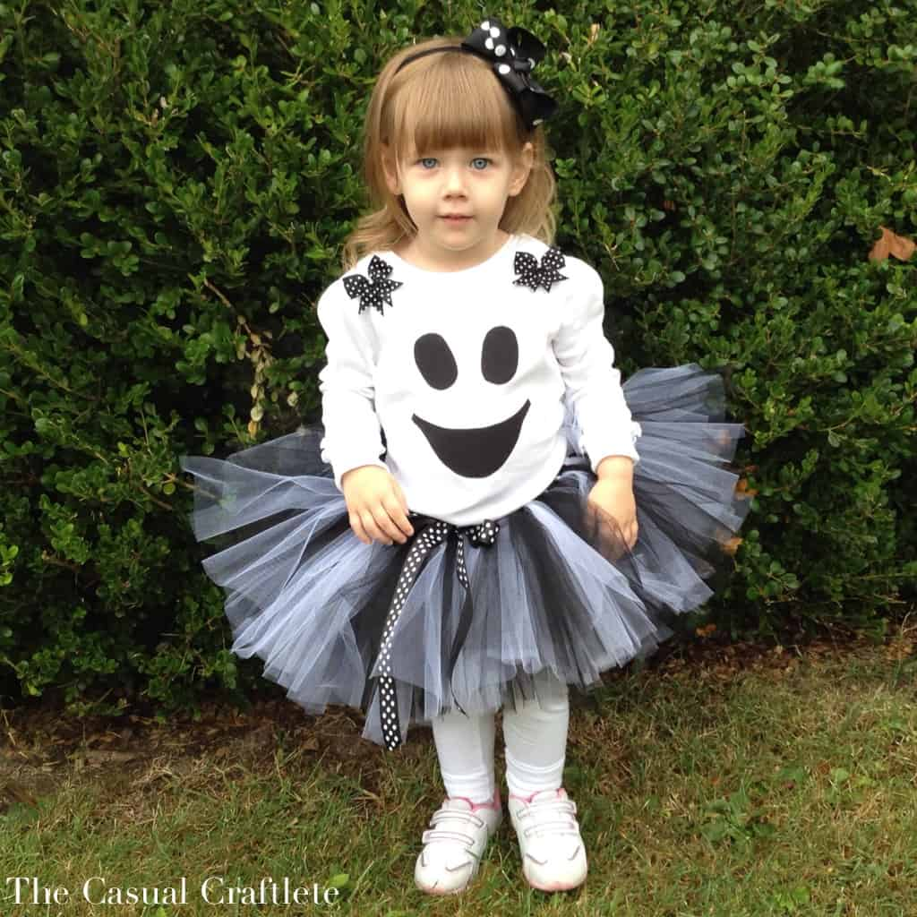 Ghost Tutu Halloween Costume  sc 1 th 225 & Ghost Tutu Halloween Costume - Purely Katie