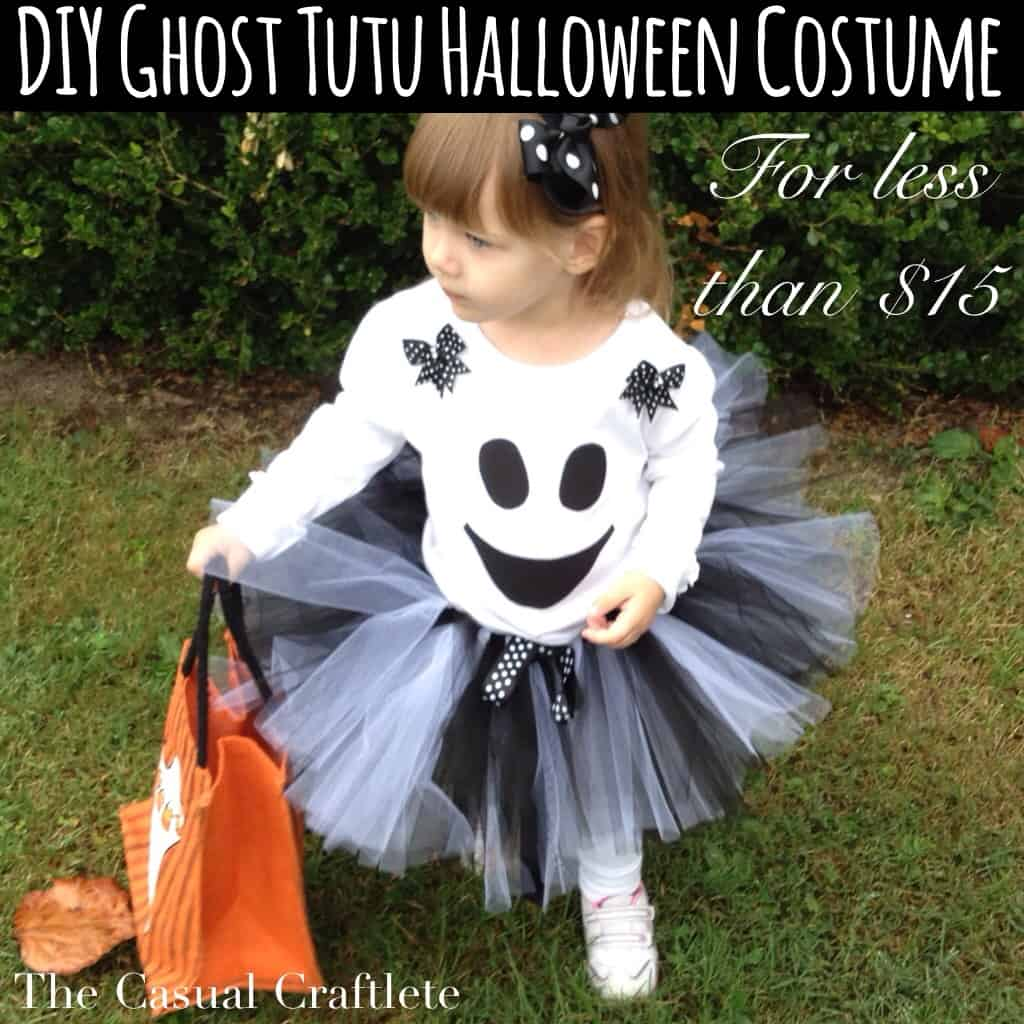 DIY Ghost Tutu Halloween Costume  sc 1 st  The Casual Craftlete : tutus halloween costumes  - Germanpascual.Com