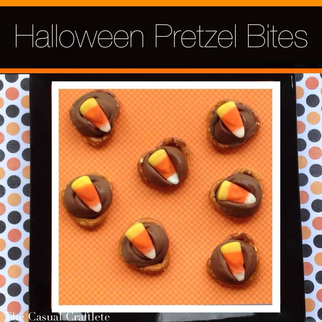 Halloween Pretzel Bites by The Casual Craftlete