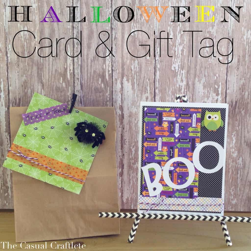 Halloween Card & Gift Tag