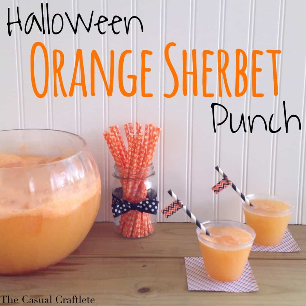 Orange Sherbet Punch With Alcohol
