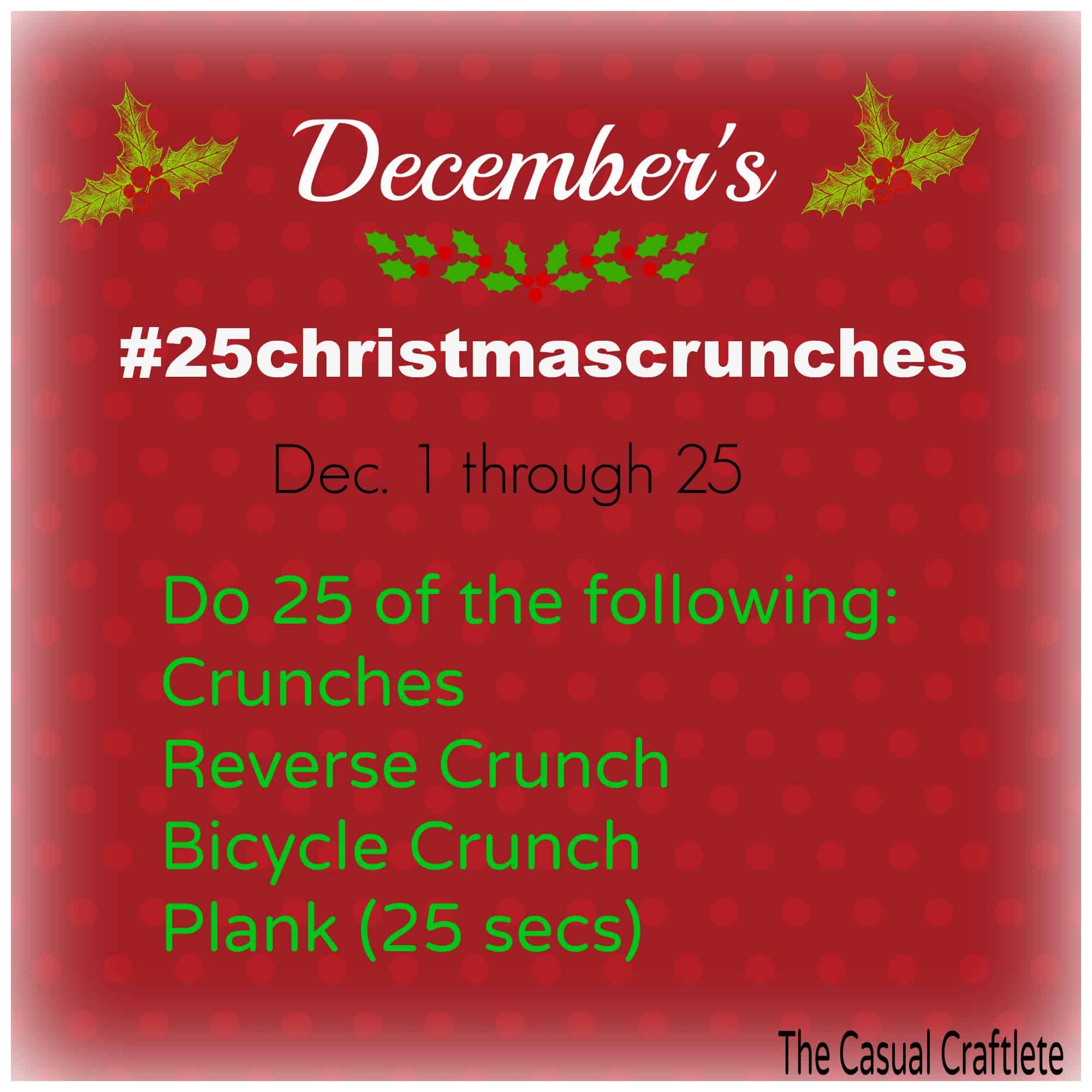 25 Christmas Crunches