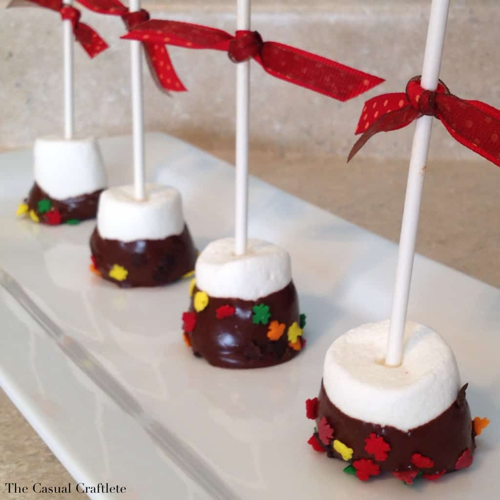 Thanksgiving Marshmallow Pops - The Casual Craftlete - A Creative ...