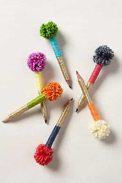 Anthropologie Pom-Pom Pencils