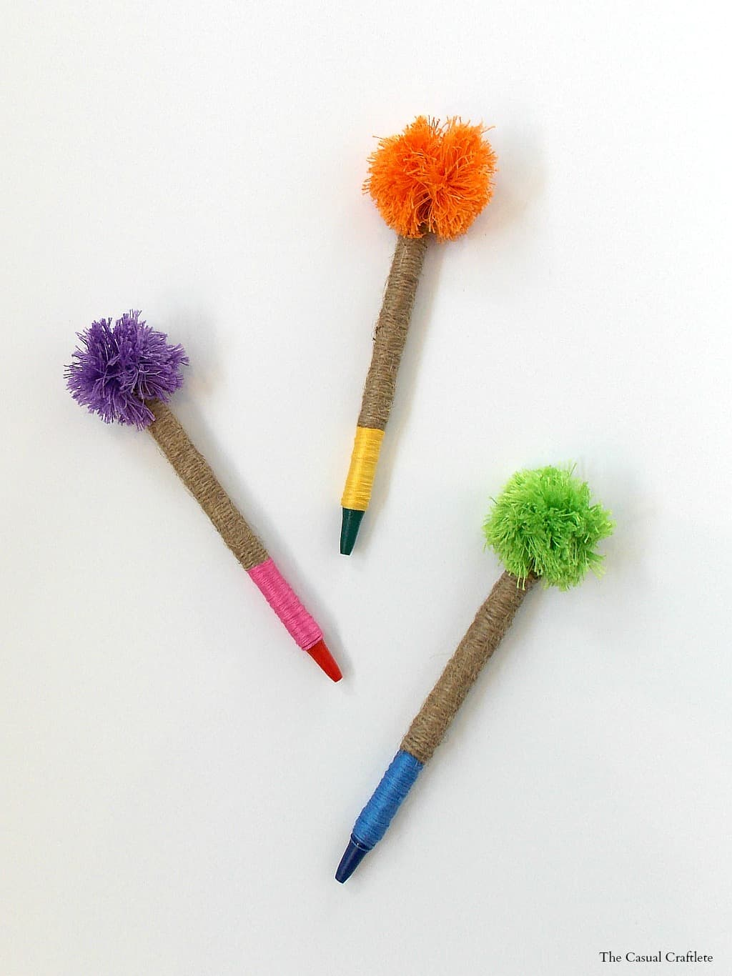 Anthropologie Knockoff Pom-Pom Pencils