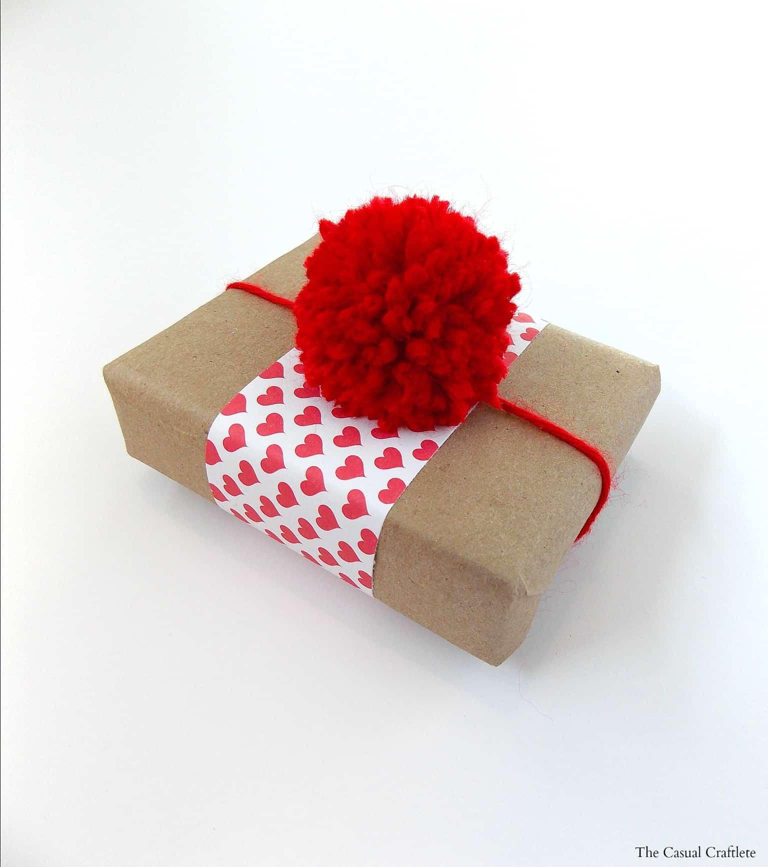 Pom Pom Gift Wrapping