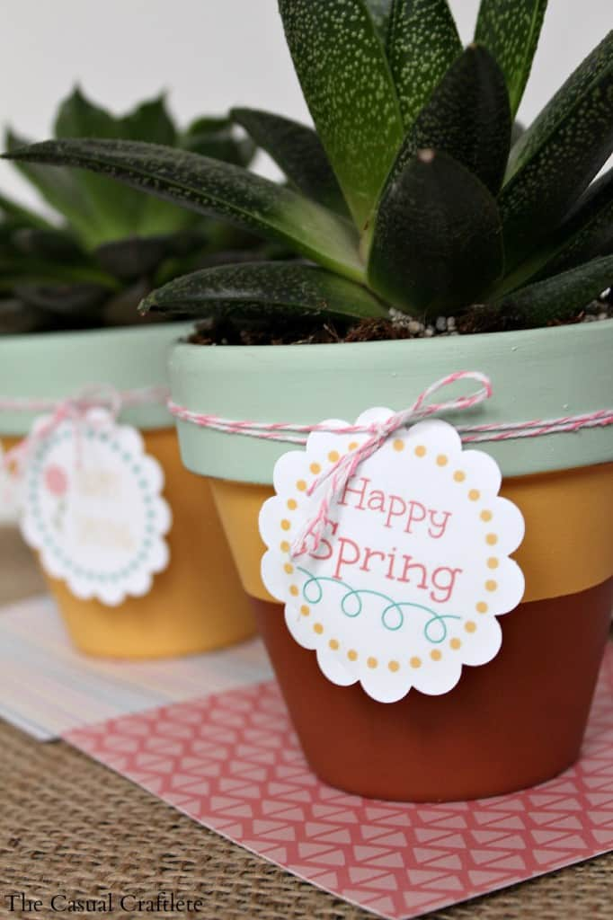 Free Printable Happy Spring Tags