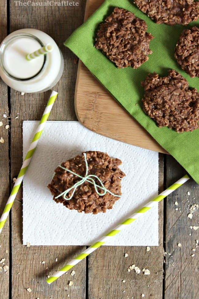 No Bake Cookies | The Casual Craftlete