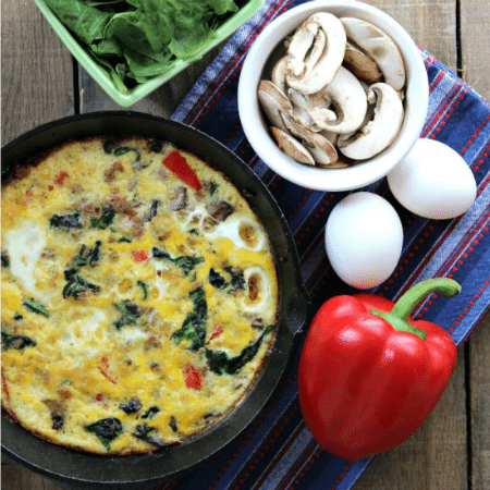 Sausage and Veggie Frittata