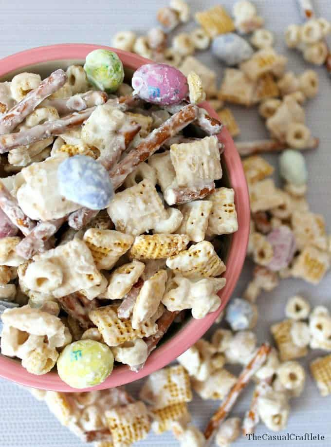 White Chocolate Party Mix Recipe