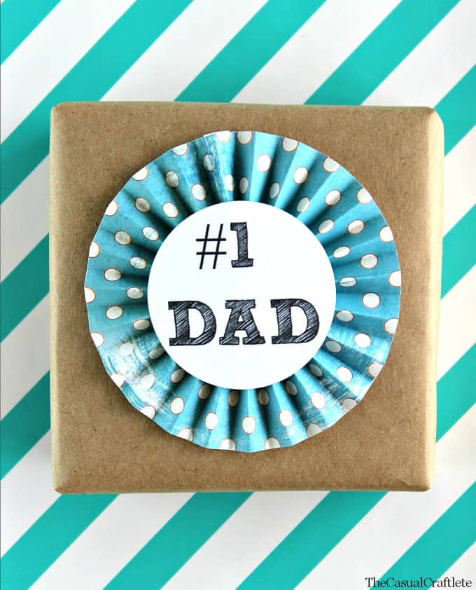 Free Printable Father's Day Tags The Casual Craflete