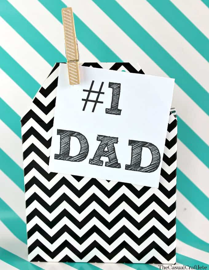 Free Printable Father's Day Tags thecasualcraftlete.com