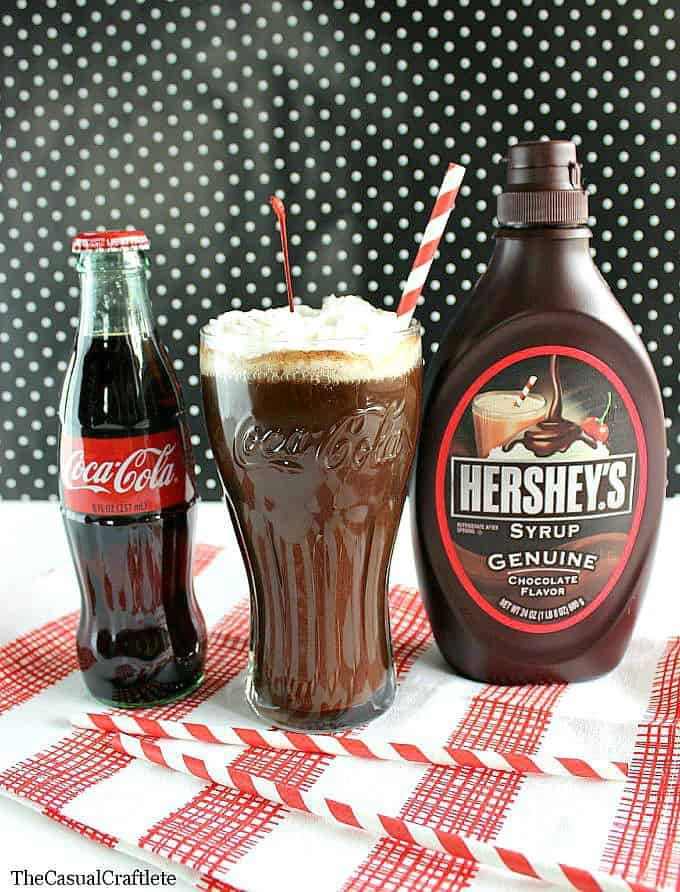 Vintage Chocolate Coke by The Casual Craftlete