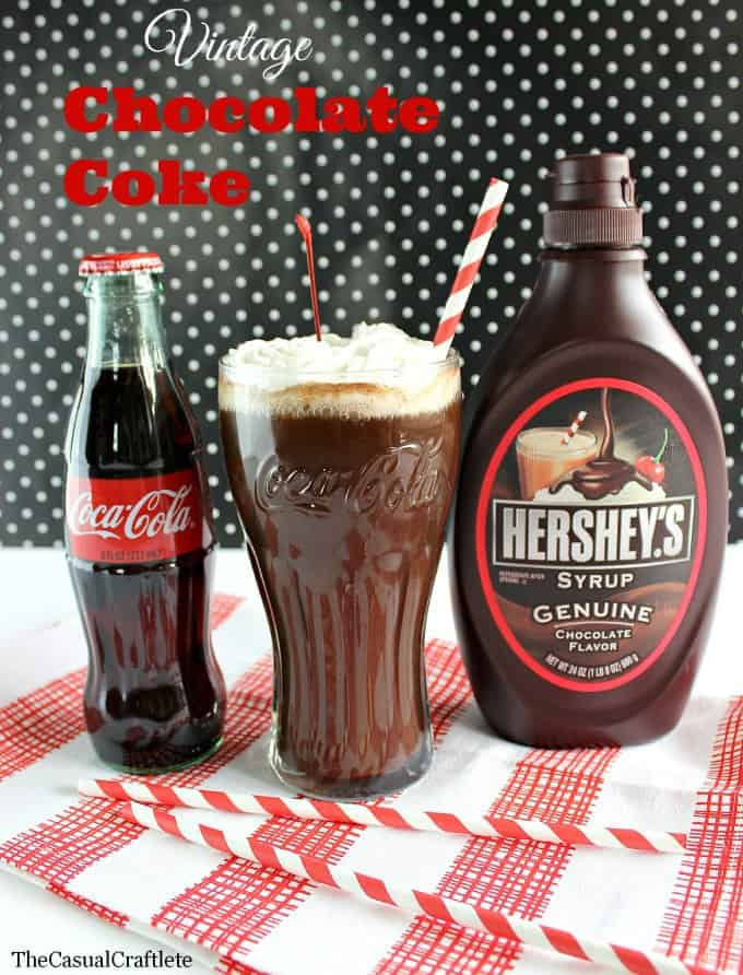 Vintage Chocolate Coke  www.thecasualcraftlete.com