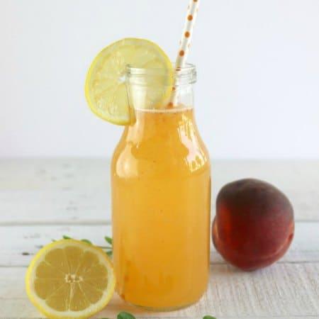 Freshly Squeezed Peach Lemonade