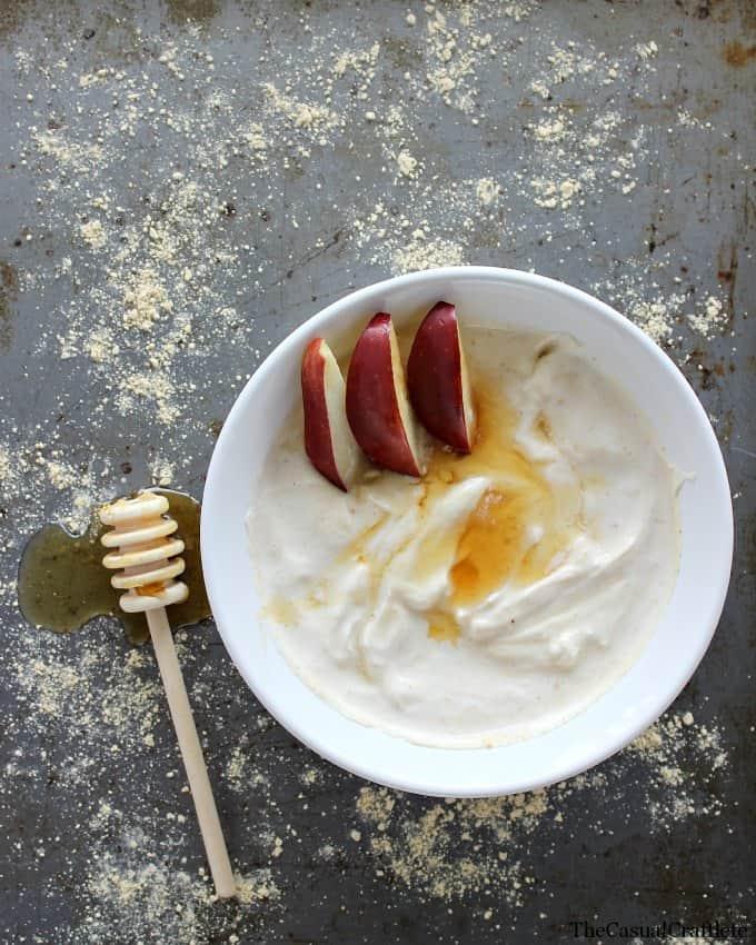 PB2 Greek Yogurt by www.thecasualcraftlete.com