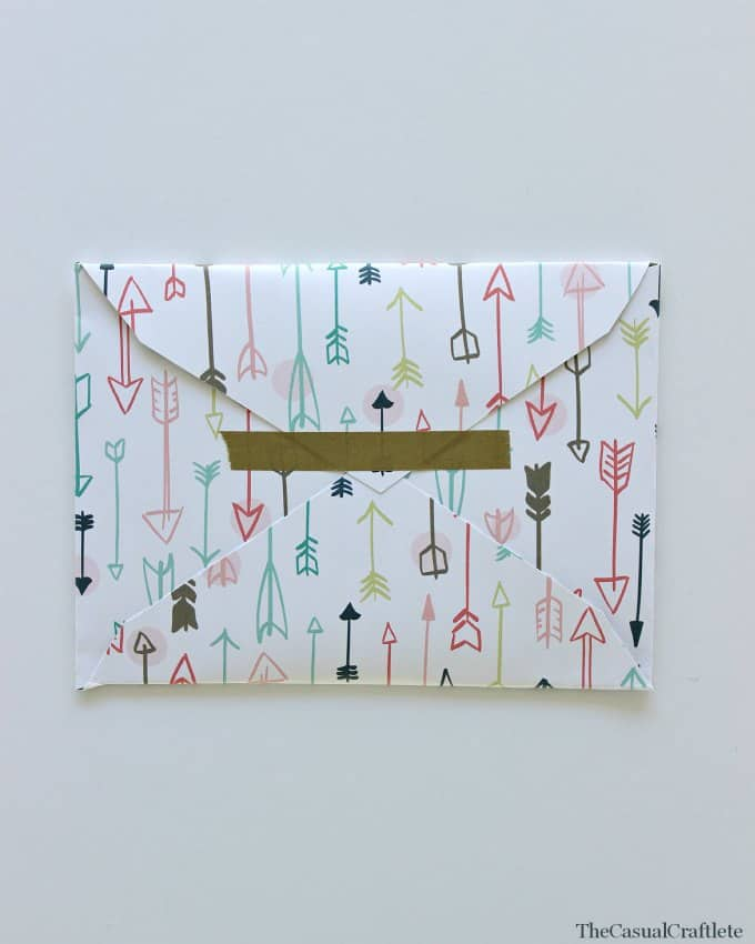 Paper Envelope by www.thecasualcraftlete.com