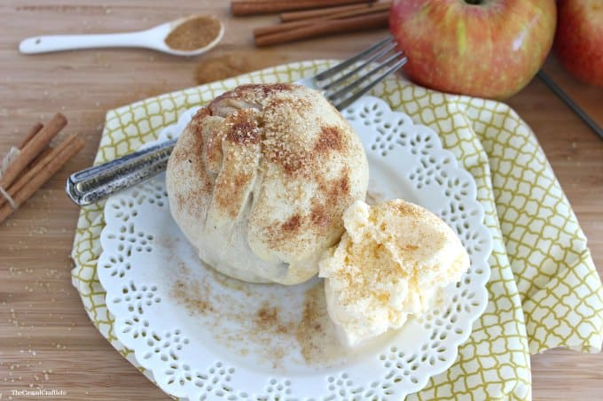 Apple Pie Bomb by The Casual Craftlete