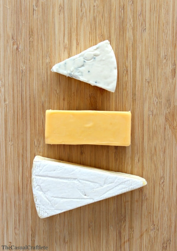 Choosing cheese for a cheese board by www.thecauslcraftlete.com for  www.placeofmytaste.com