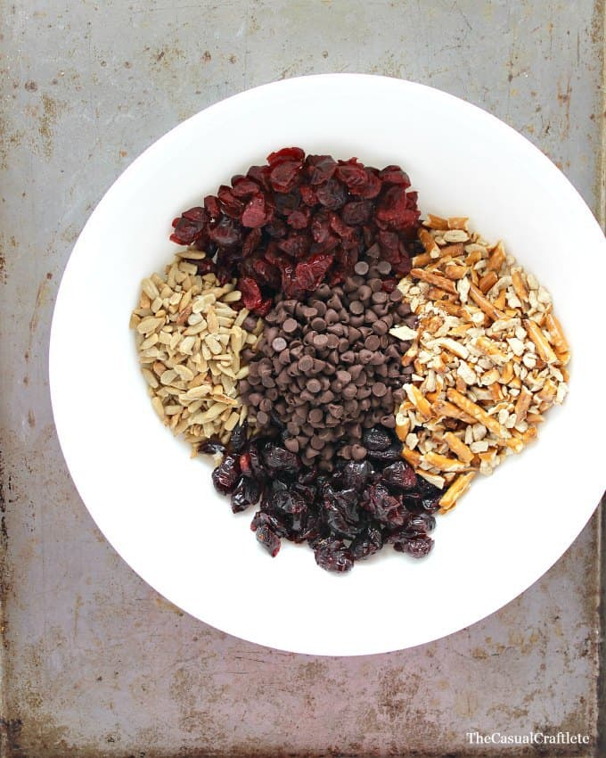 Trail Mix Energy Bites by www.thecasualcraftlete.com