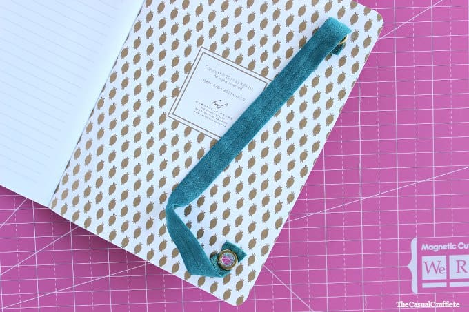 Easy DIY Elastic Band Closure Notebook