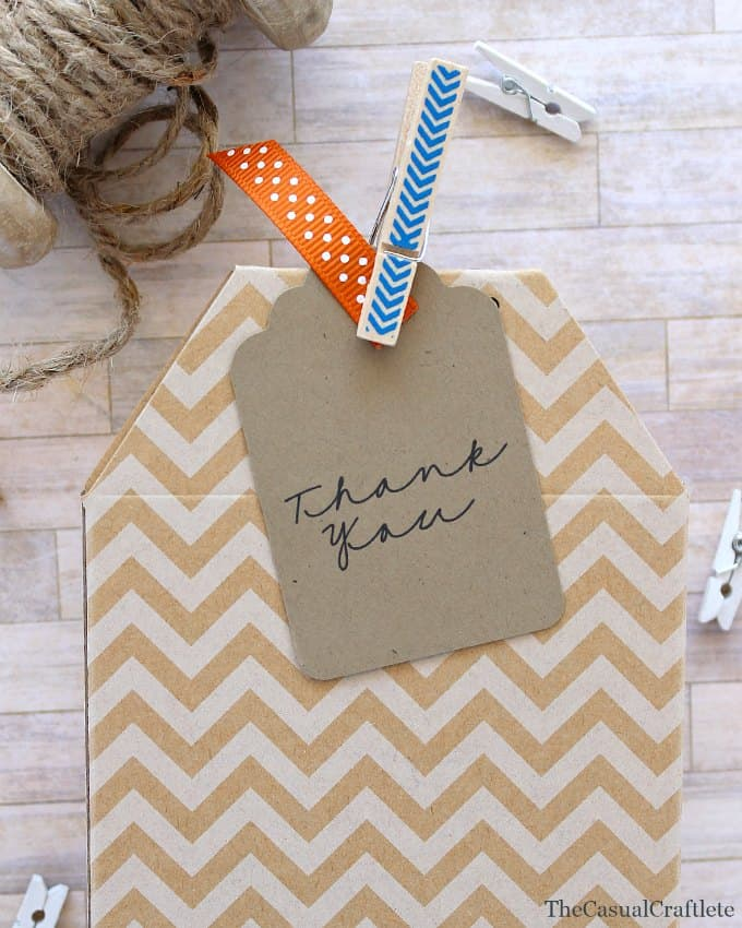 Free Printable Thank You Tag