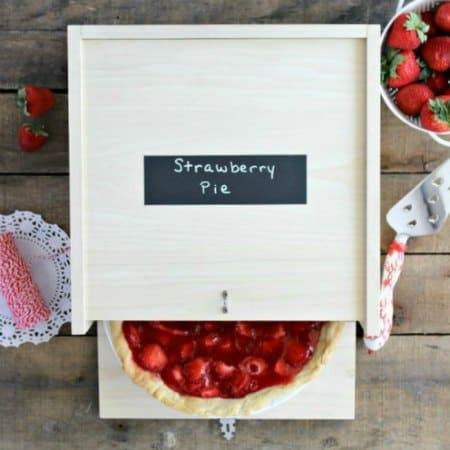 DIY Wood Pie Box