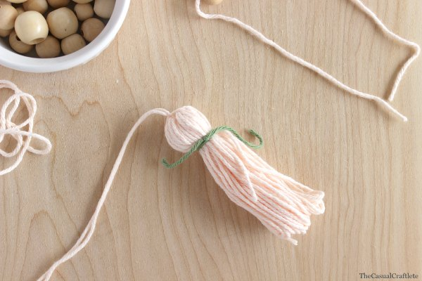 Step 4 DIY Yarn Tassel