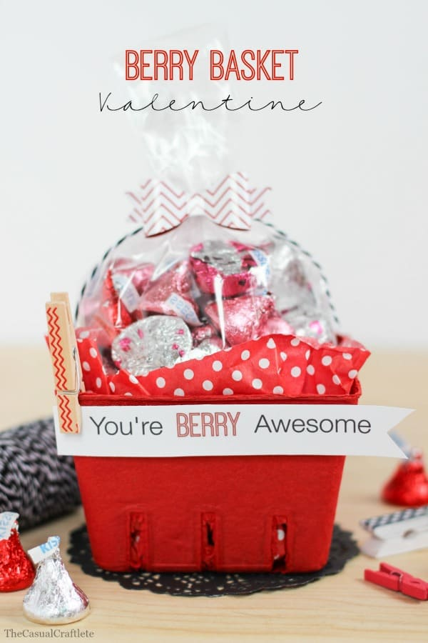 Berry Basket Valentine