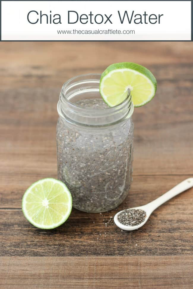 Chia Drink With Lemon | DIY Detox Water Ideas To Stay Refreshed
