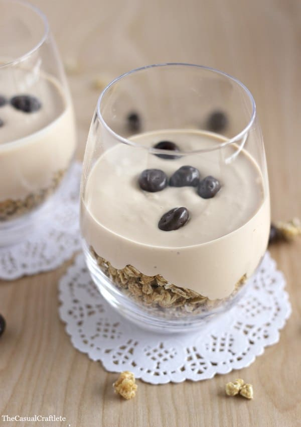 Coffee Yogurt Granola Parfait