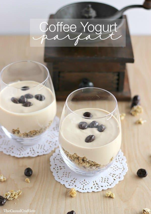 Coffee Yogurt Parfait
