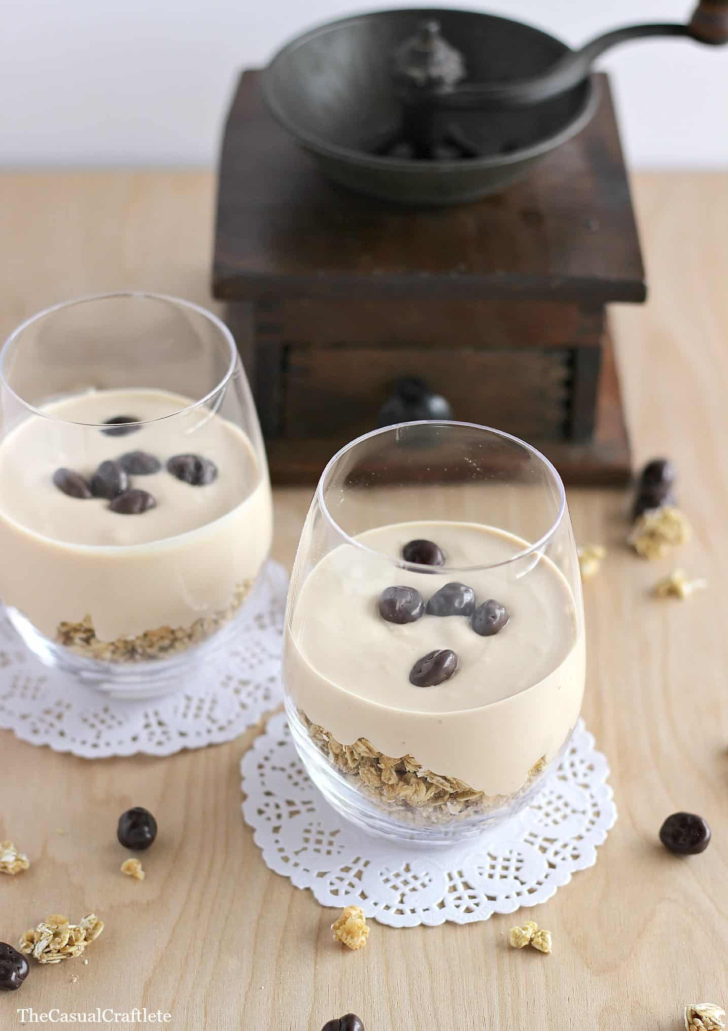 Coffee Yogurt Parfait by The Casual Craftlete