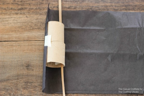How to make a popper using a toilet paper tube