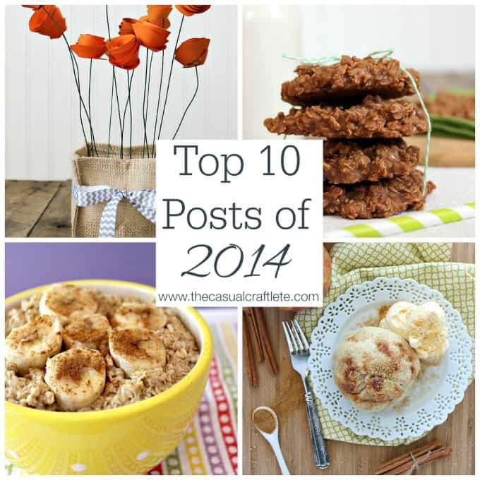 Top 10 Posts of 2014 from www.thecasualcraftlete.com