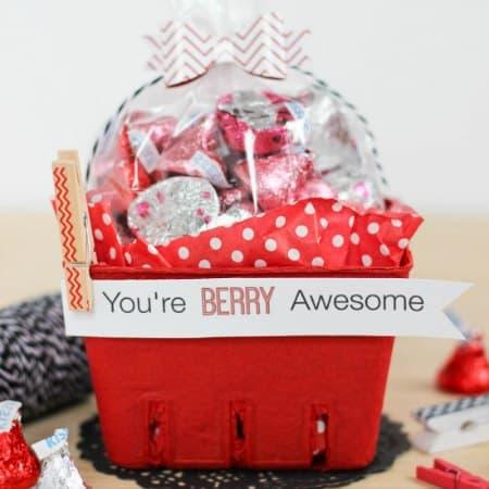 Berry Basket Valentine
