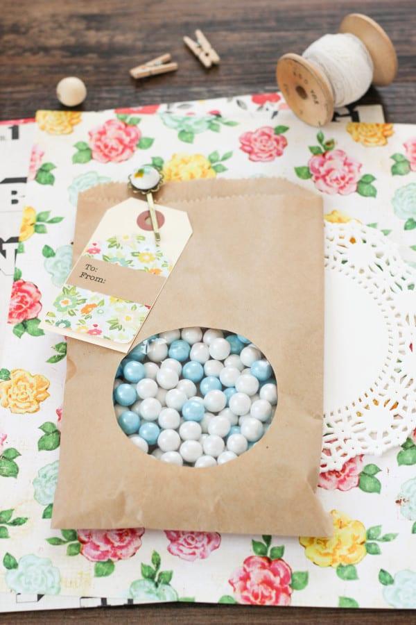 DIY Peek A Boo Paper Bag