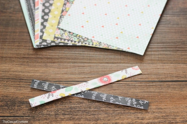 How to make scrapbook twist ties