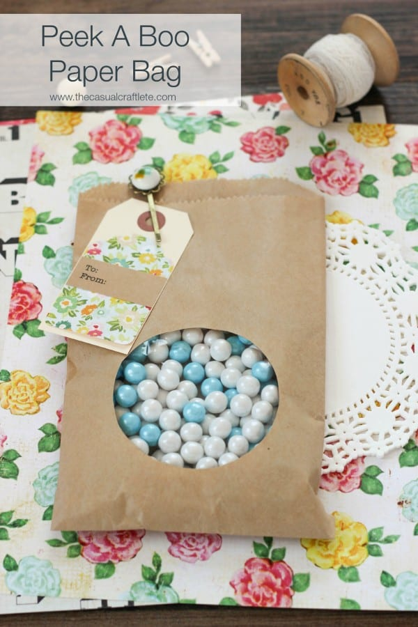 DIY Peek A Boo Paper Bag