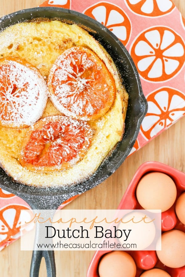 Grapefruit Dutch Baby