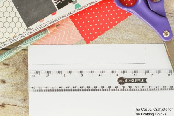 How to make scrapbook paper covered pencils