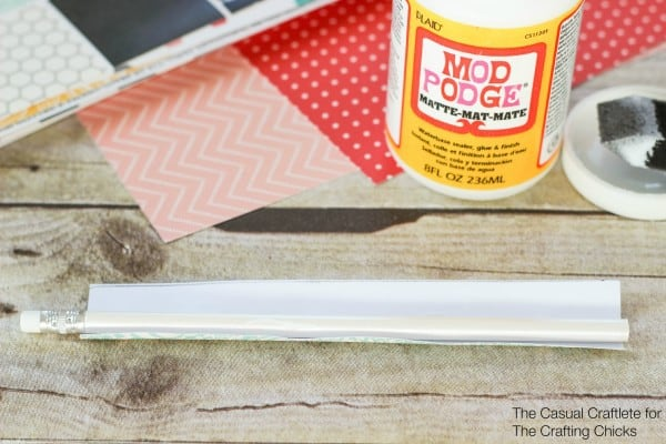 DIY Scrapbook Paper Pencils