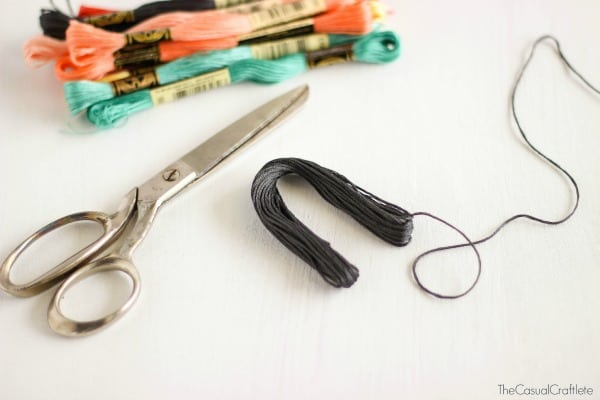 How to make embroidery floss tassels
