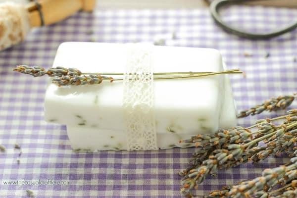How to make homemade Lavender Soap