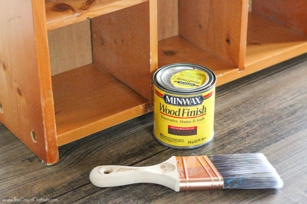 How To Use Wood Stain Transform An Outdated Piece Of Furniture Looking Like
