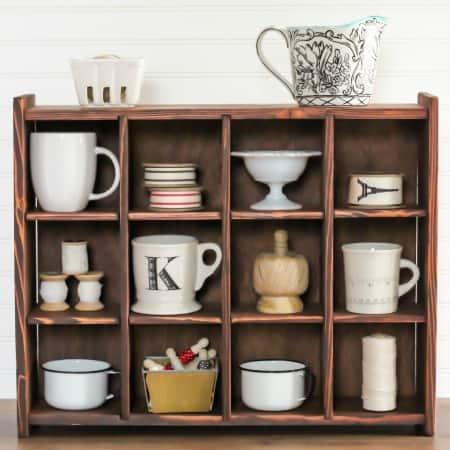DIY Cubby Organizer – Pottery Barn Inspired